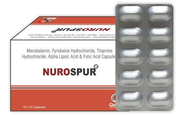 D M Pharma - Mecobalamin, Alpha Lipoic, Thiamine Hydrochlordie