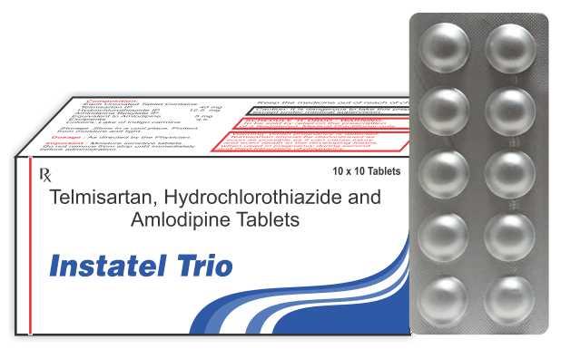 Telmisartan Hydrochlorothiazide Indications